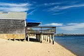 foto of beach-house  - Beach house at Provincetown - JPG