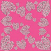 picture of calla  - pattern from leaves of calla lilies on bright background - JPG