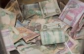 stock photo of dirhams  - dubai charity  home - JPG