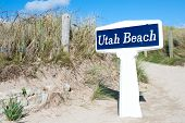 picture of world war one  - Utah Beach is one of the five Landing beaches in the Normandy landings on 6 June 1944 during World War II - JPG