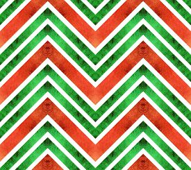 picture of chevron  - Seamless retro geometric pattern with zigzag lines - JPG