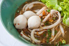 picture of noodles  - Fish Noodles - JPG