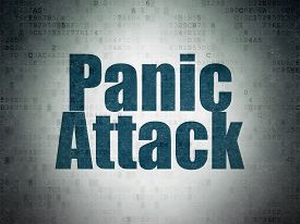 image of panic  - Healthcare concept - JPG