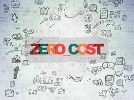 stock photo of zero  - Business concept - JPG