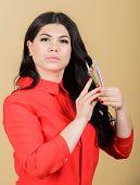 Beauty Shop Concept. Professional Eyelash Extension Tweezer. Lash Tool. Girl Makeup Face Hold Tweeze poster