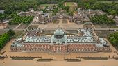 University Of Potsdam And New Palace. Aerial View poster