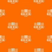 Best Quality Pattern Vector Orange For Any Web Design Best poster