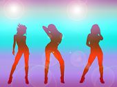 Sexy Girls Dancing poster