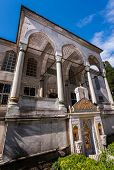 image of neo-classic  - Entry to Neo Classical Library of Sultan Ahmed - JPG