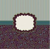 Mens Strips And Paisley Design Template,artwork,background