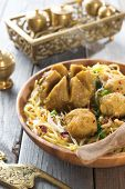 pic of malaysian food  - Indonesian meatball  noodles or mee bakso - JPG