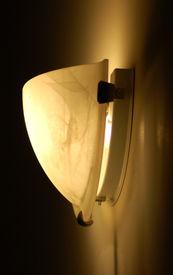 picture of light fixture  - Hallway wall mounted light fixture   - JPG
