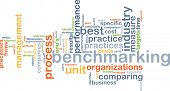 picture of benchmarking  - Background concept wordcloud illustration of benchmarking - JPG