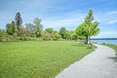 stock photo of bavaria  - An image of the Starnberg Lake in Bavaria Germany  - JPG