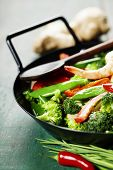 stock photo of stir fry  - Chinese cuisine - JPG