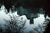 image of reflection  - Old castle Trakoscan - JPG