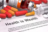 pic of medical injection  - Health is Wealth  - JPG