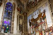 foto of church interior  - Interior of Santa Maria Novella - JPG