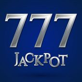 Постер, плакат: Casino jackpot symbol