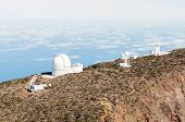 Постер, плакат: Telescopes In La Palma