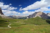 Dolomites - Sella Pass