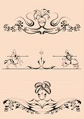 pic of jousting  - decorative elements in the baroque - JPG