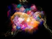 Lights Of Color Space poster