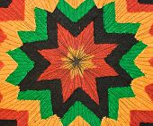 picture of rastaman  - Multicolor bright rastaman fabric as the background - JPG