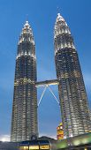 pic of petronas twin towers  - KUALA LUMPUR  - JPG