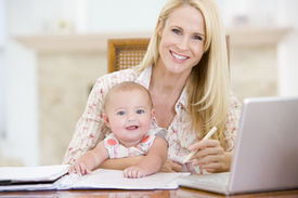 picture of x-files  - Couples working from home with baby - JPG