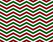 Red And Green Zigzag Pattern Background