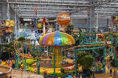 Nickelodeon Universe Inside Of Mall Of America In Bloomington, Mn On July 06, 2013