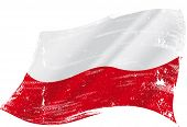 A grunge polish flag for you