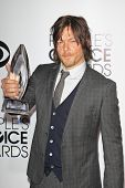 LOS ANGELES - JAN 8: Norman Reedus at The People's Choice Awards at the Nokia Theater L.A. Live on J