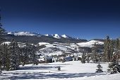stock photo of colorado high country  - Colorado High Country Living - JPG