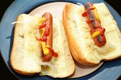 Hot Dogs With Saurkraut