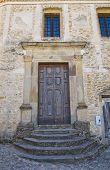 stock photo of pilaster  - Church of Annunziata - JPG