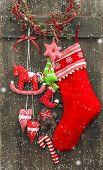 picture of nostalgic  - christmas decoration santa - JPG