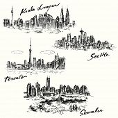 picture of kuala lumpur skyline  - Toronto - JPG