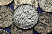 picture of brazilian money  - Coins of Brazil - JPG