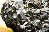 pic of pyrite  - Huge chunk of Pyrite also called Fools Gold - JPG