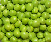 foto of peas  - Fresh green peas from the farm in India - JPG
