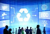 picture of reuse  - Recycle Resource Reuse Reduce Energy Professional Concept - JPG