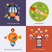 foto of social-security  - Icons for social network - JPG