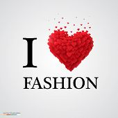 pic of typing  - i love fashion - JPG