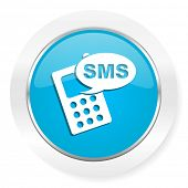 foto of sms  - sms icon phone sign