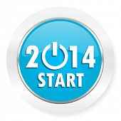 picture of new year 2014  - new year 2014 icon new years symbol  - JPG