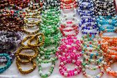 pic of precious stones  - Jewelry made of precious stones and colored stones - JPG