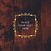 foto of boutique  - Vintage Frame for Luxury Logos - JPG