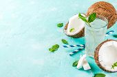 Fresh Organic Coconut Water poster